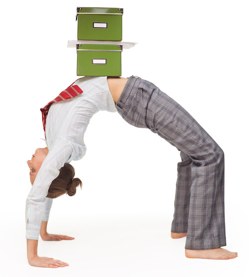 Flexible worker balancing files