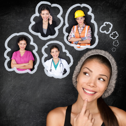 career choice options different professions